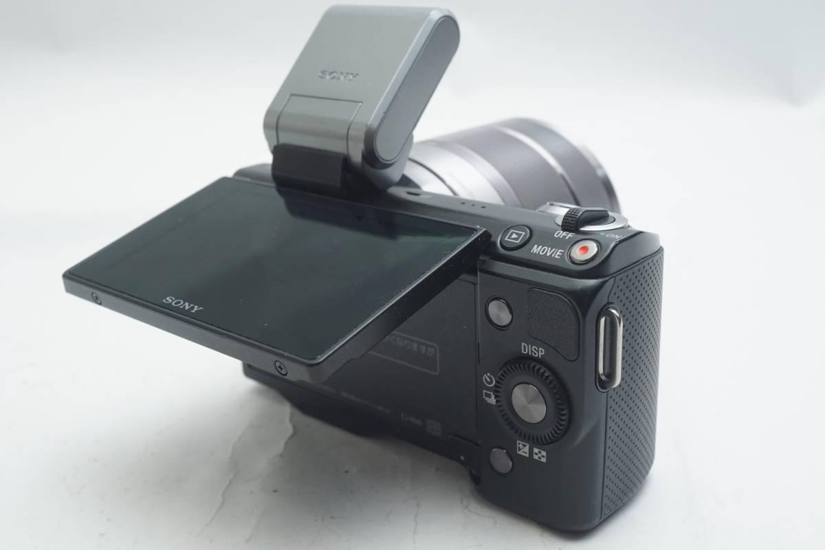 ★極上美品★ SONY NEX-5N SEL1855 E 18-55mm F3.5-5.6 OSS ソニー 標準ズームレンズキット ミラーレスカメラ Eマウント α ブラック_画像9