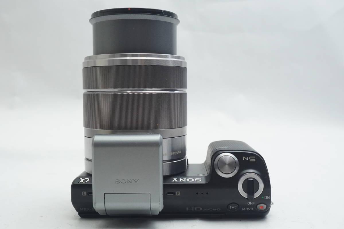 ★極上美品★ SONY NEX-5N SEL1855 E 18-55mm F3.5-5.6 OSS ソニー 標準ズームレンズキット ミラーレスカメラ Eマウント α ブラック_画像6