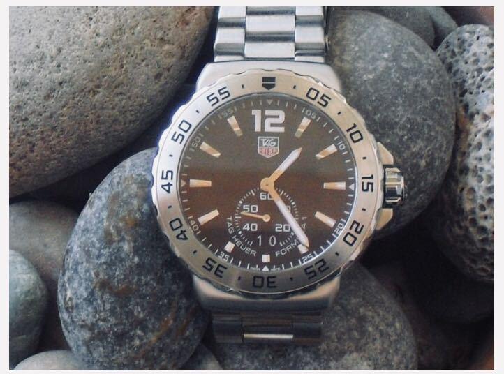 【生産終了激レア】タグ・ホイヤー フォーミュラ1腕時計 Tag Heuer _画像6