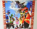 number . Prima ham Pirate Squadron Gokaiger B2 poster . hand ....! number collection .. not for sale telecast that time thing