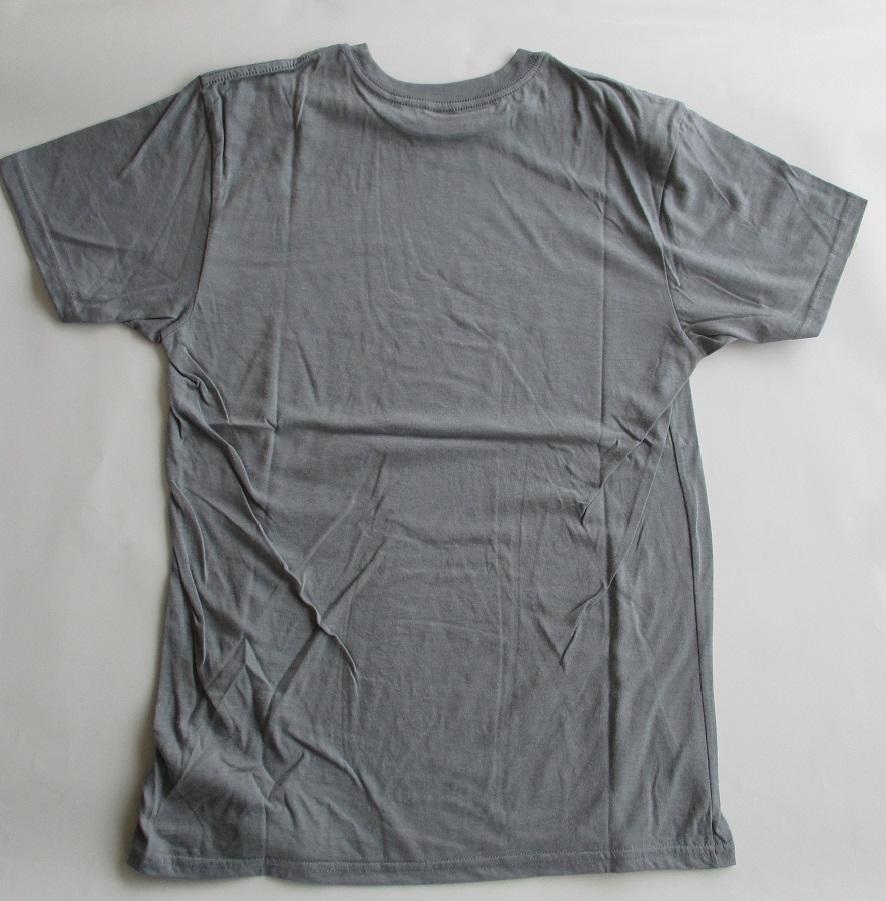 送料無料(バートン)BURTON 半袖tシャツ 10011 ライトグレー M(日本L)_画像2