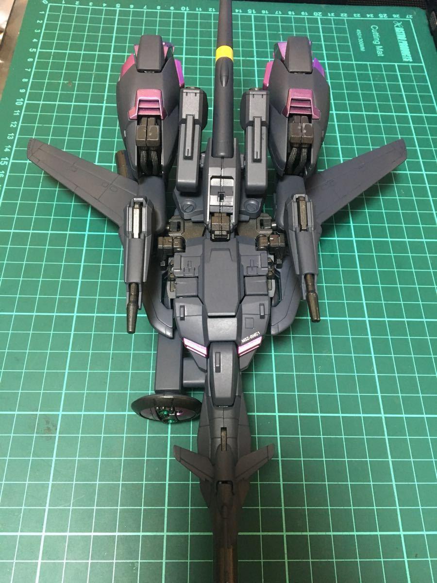 バンダイ MG 機動戦士ガンダム ZETA plus C1 塗装済 完成品 全塗装 ジャンク(ゼータプラス Z ガンダム hg mg pg rg )_画像5