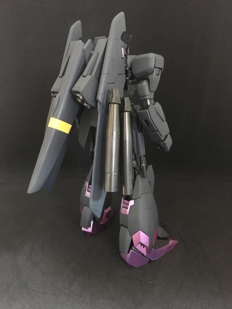バンダイ MG 機動戦士ガンダム ZETA plus C1 塗装済 完成品 全塗装 ジャンク(ゼータプラス Z ガンダム hg mg pg rg )_画像4