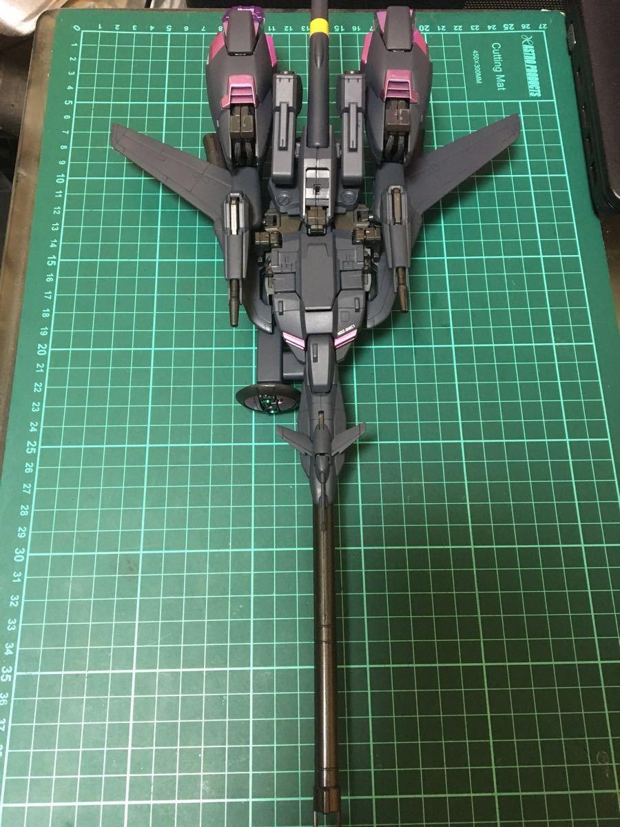 バンダイ MG 機動戦士ガンダム ZETA plus C1 塗装済 完成品 全塗装 ジャンク(ゼータプラス Z ガンダム hg mg pg rg )_画像7
