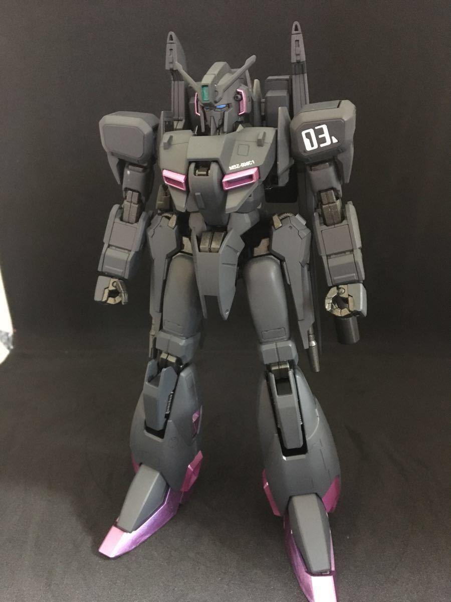 バンダイ MG 機動戦士ガンダム ZETA plus C1 塗装済 完成品 全塗装 ジャンク(ゼータプラス Z ガンダム hg mg pg rg )_画像2