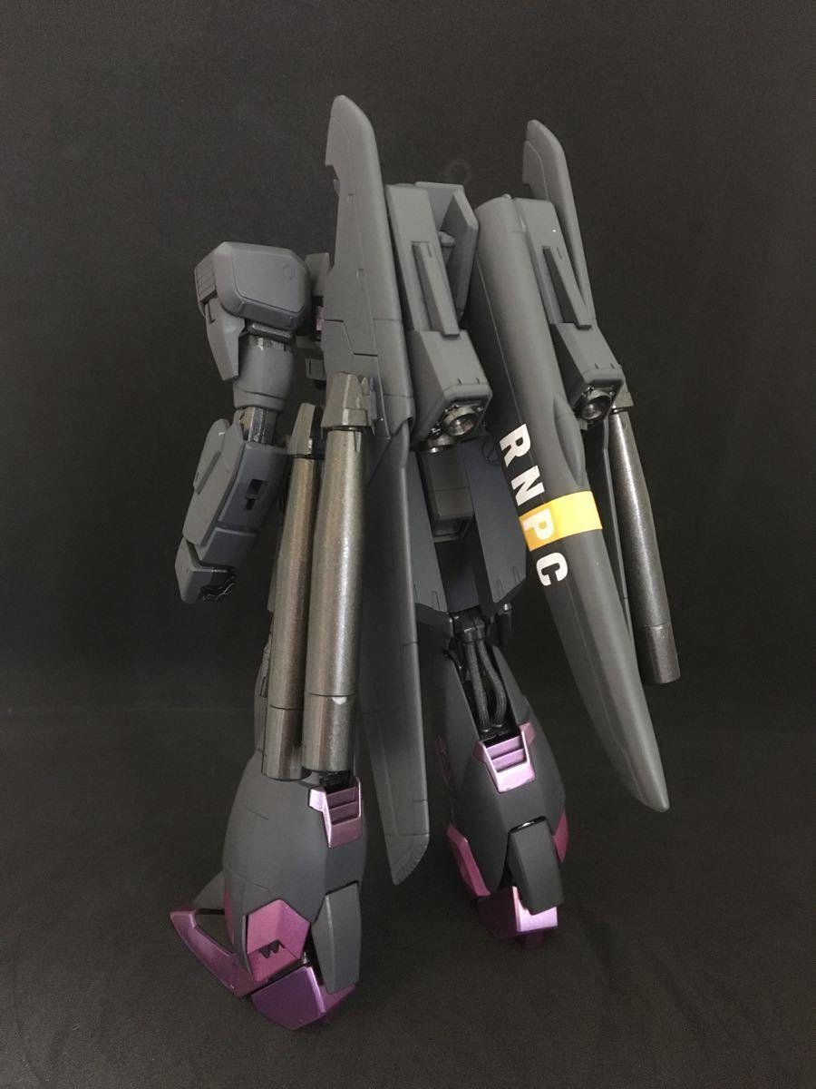 バンダイ MG 機動戦士ガンダム ZETA plus C1 塗装済 完成品 全塗装 ジャンク(ゼータプラス Z ガンダム hg mg pg rg )_画像3