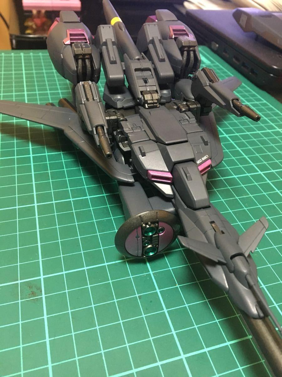 バンダイ MG 機動戦士ガンダム ZETA plus C1 塗装済 完成品 全塗装 ジャンク(ゼータプラス Z ガンダム hg mg pg rg )_画像6
