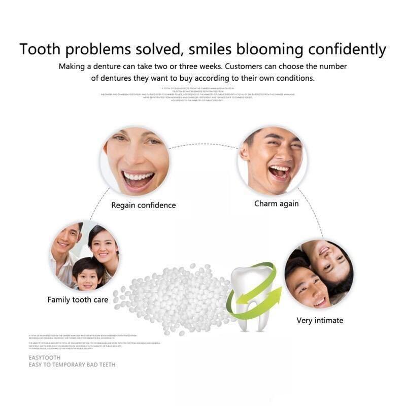 【格安価格】フィッティングビーズ10g《歯の損傷修復、歯の固定》インスタントスマイル 抜け歯、差し歯、歯の補修、粘着に最適~DX_画像5