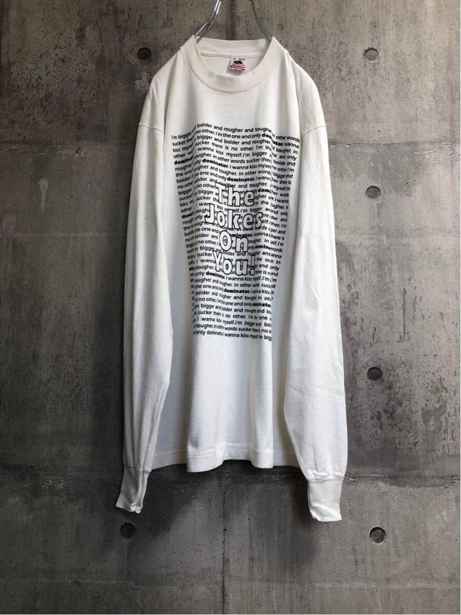 92年製 Human resource ヒューマン リソース ロングt tシャツ バンドt ロンt ヴィンテージ aphex twin rave avid house 90s テクノ techno_画像4