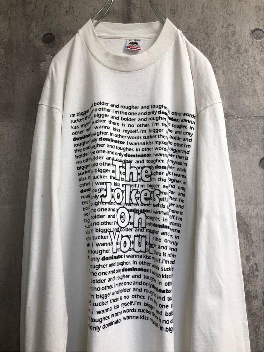 92年製 Human resource ヒューマン リソース ロングt tシャツ バンドt ロンt ヴィンテージ aphex twin rave avid house 90s テクノ techno_画像2