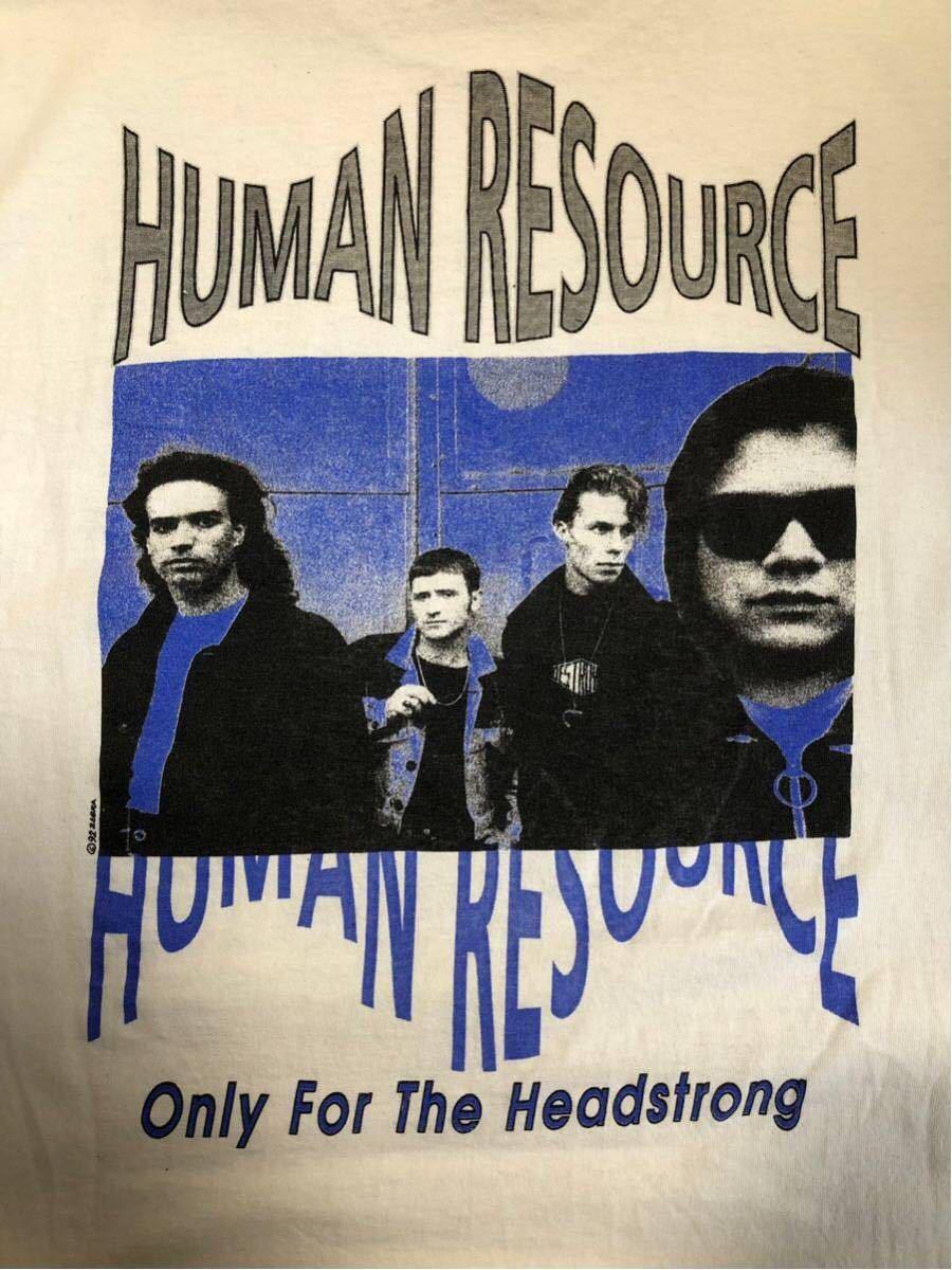 92年製 Human resource ヒューマン リソース ロングt tシャツ バンドt ロンt ヴィンテージ aphex twin rave avid house 90s テクノ techno_画像6