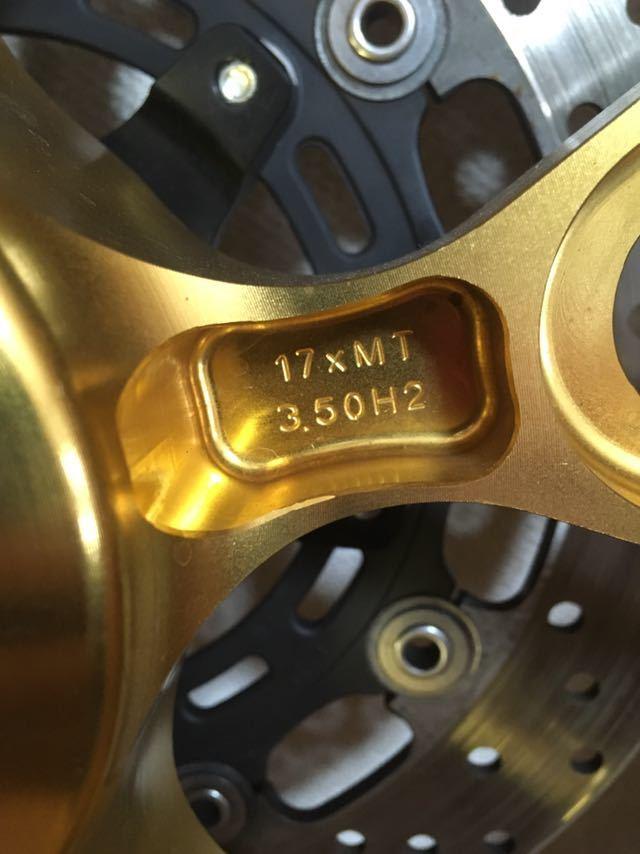 WR250R WR250X マルケジーニ アルミ鍛造ホイール 前後セット M10SM スーパーコルサSC1 検.DG15j.marchsini_画像7