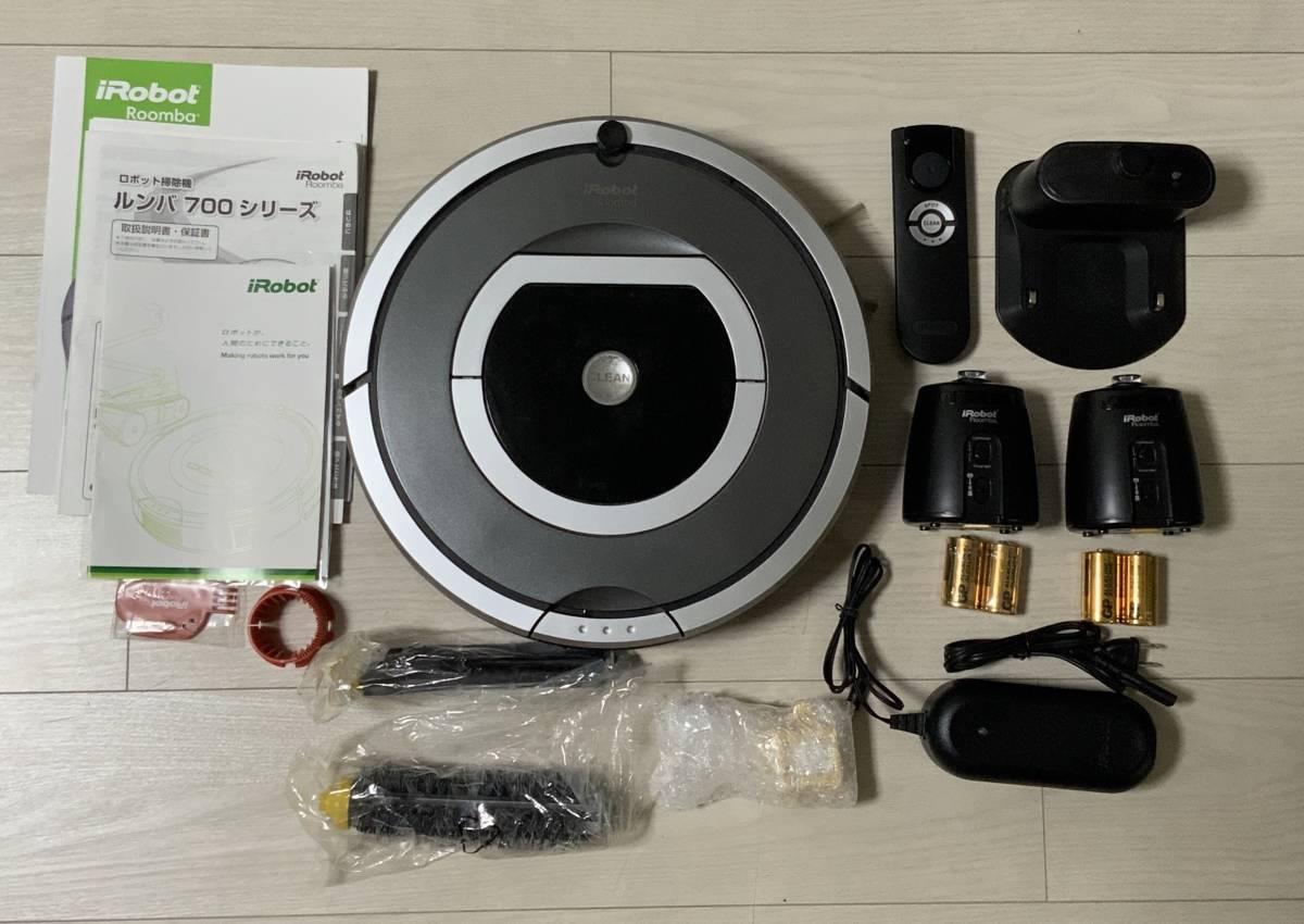 1円 スタート~ iRobot Roomba ロボット 掃除機 ルンバ 780 売り切り!