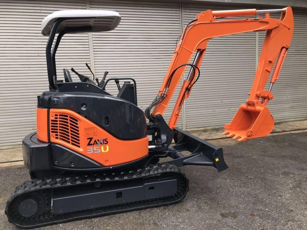 激安!HITACHI 油圧ショベル★ ZAXIS ZX35U-2 ★1520H 売切!!_画像2