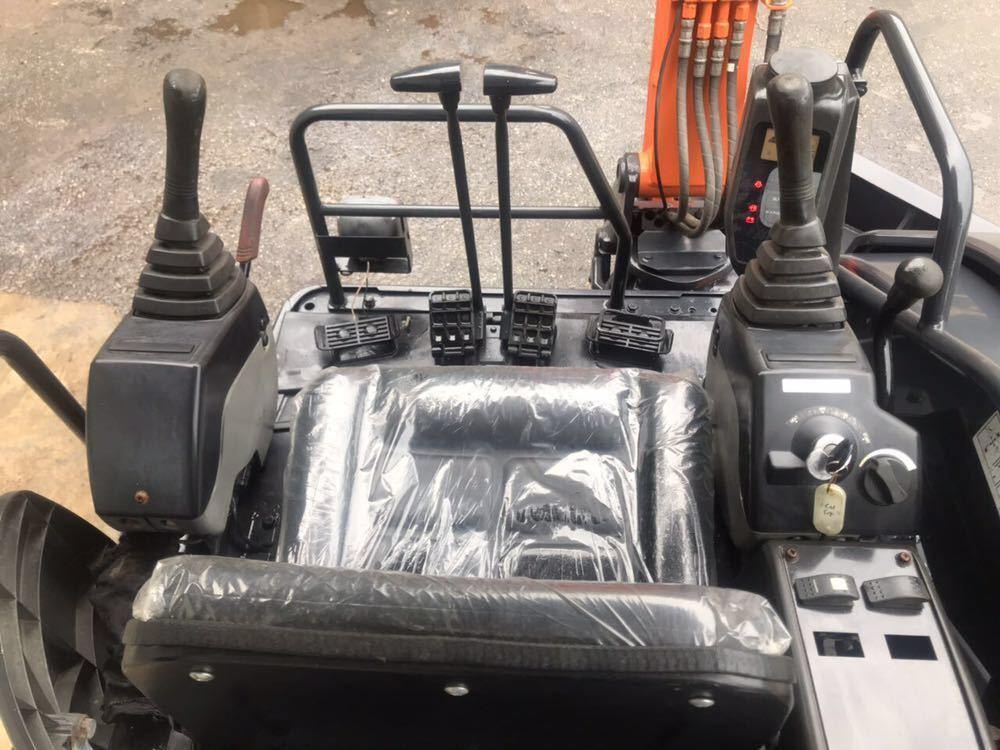 激安!HITACHI 油圧ショベル★ ZAXIS ZX35U-2 ★1520H 売切!!_画像9