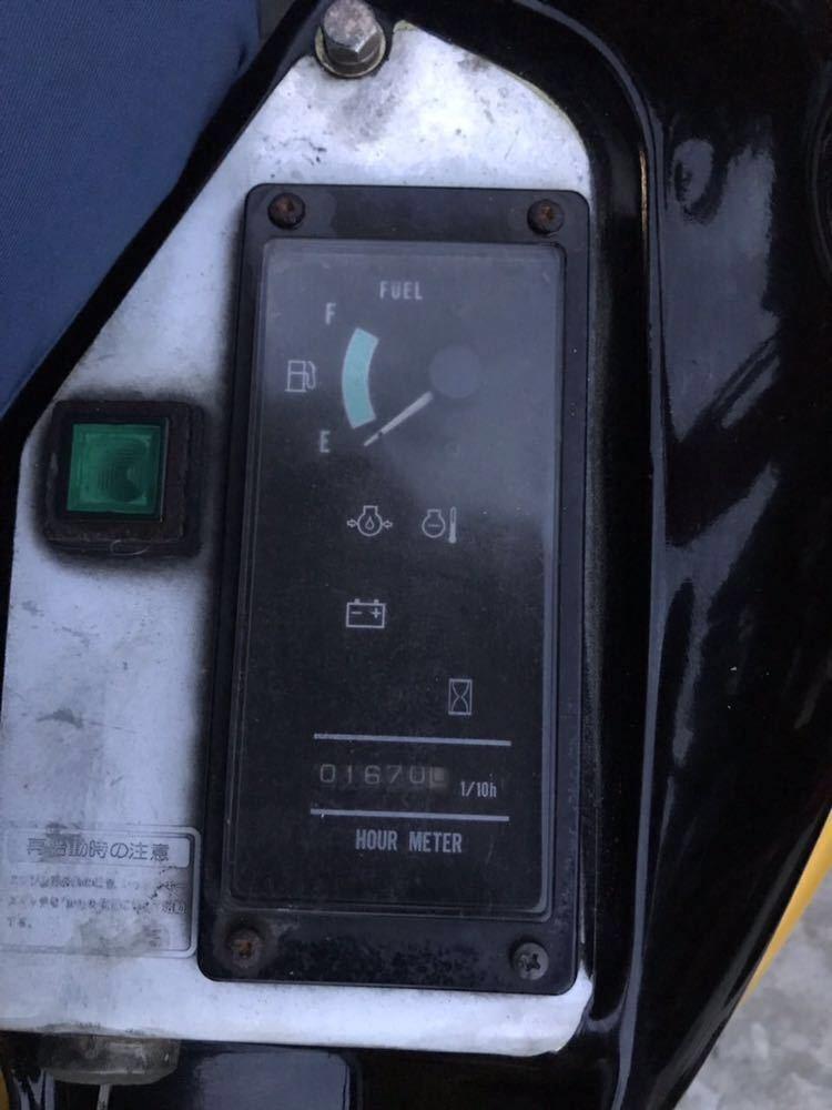 激安!! ★ヤンマー ViO20★ユンボ ★1670H 売切!!_画像9
