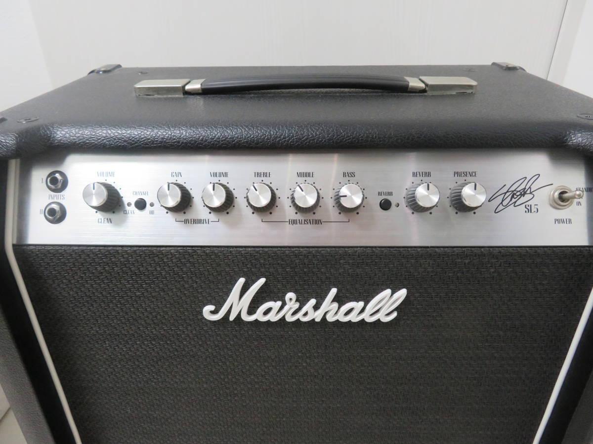 ★ Marshall SL5 Slash Signature MOD スピーカー交換済み_画像2