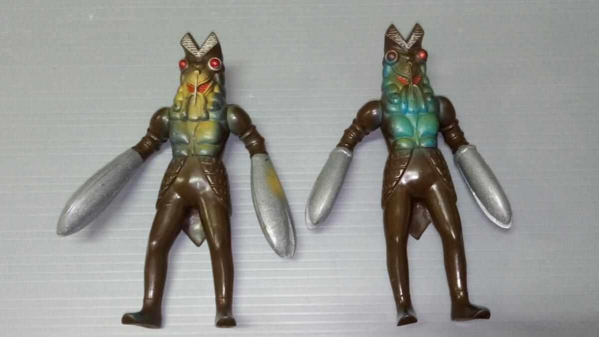 怪獣ソフビ ナース バキシム コダラー テレスドン バルタン星人 ゴモラ メトロン星人 日本製 中国製_画像5