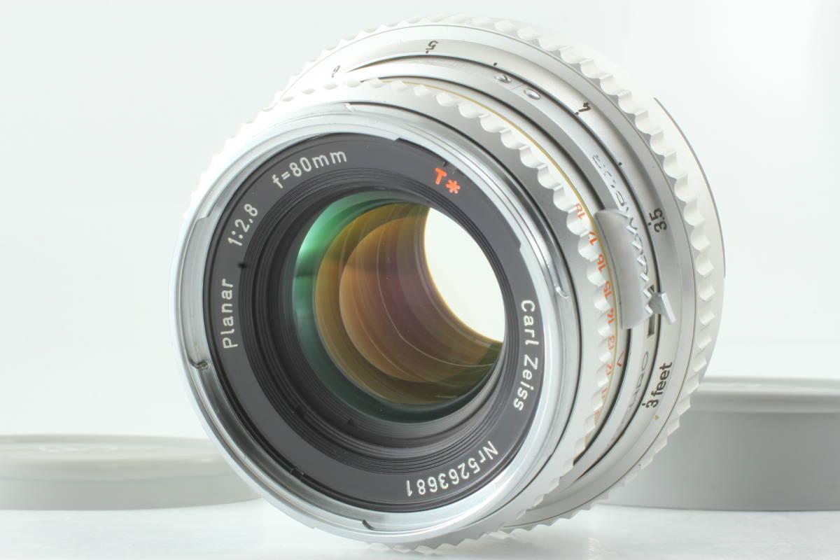 【レア!即決 超美品 保障付 動作確認済 Chrome T*】Hasselblad Zeiss Planar C 80mm f/2.8 ハッセルブラッド クローム ツァイス C715J