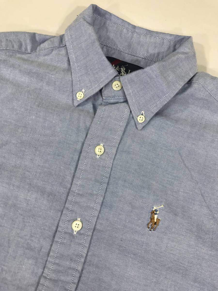 古着 16766 長袖 シャツ USA コットン ビンテージ オリジナル vintage 60 70 80 90 ポロ polo ラルフ_画像2