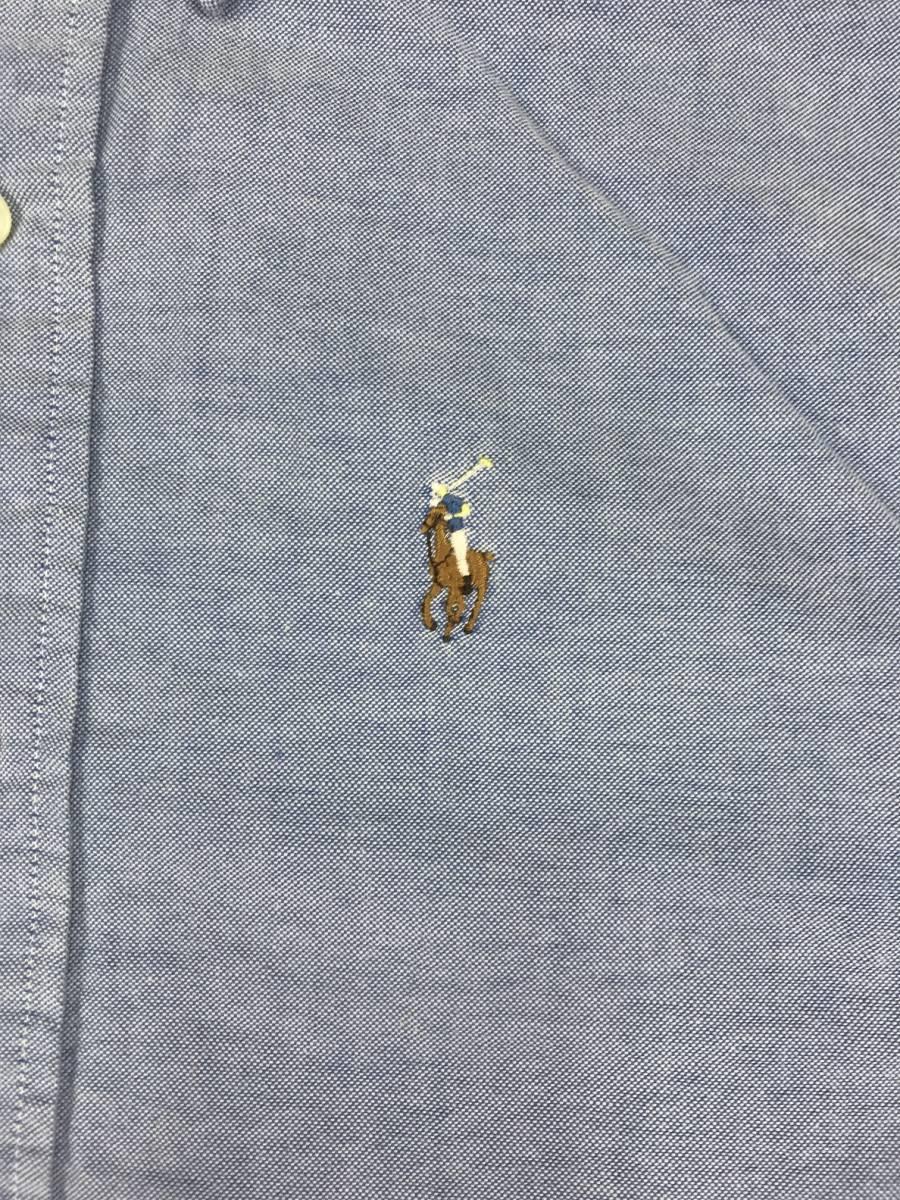 古着 16766 長袖 シャツ USA コットン ビンテージ オリジナル vintage 60 70 80 90 ポロ polo ラルフ_画像3
