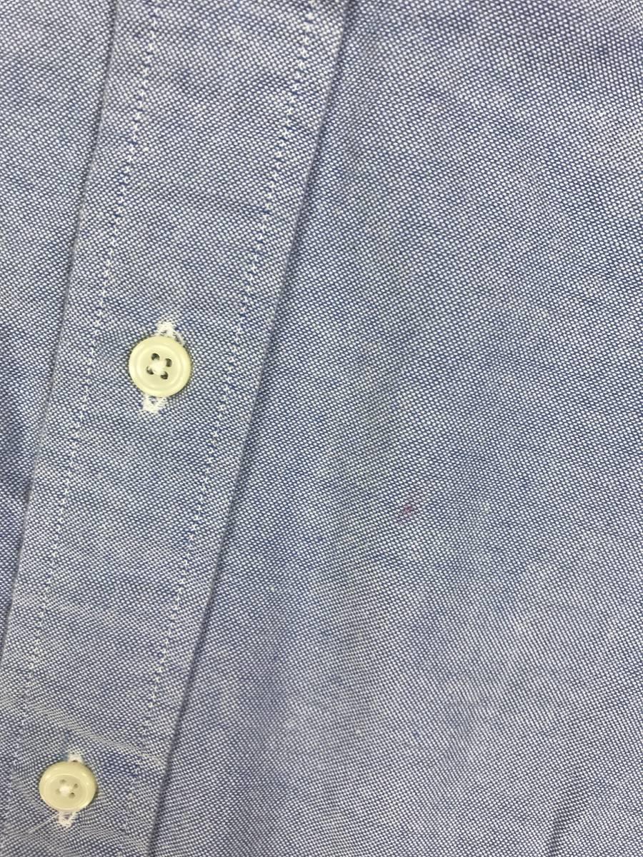 古着 16766 長袖 シャツ USA コットン ビンテージ オリジナル vintage 60 70 80 90 ポロ polo ラルフ_画像4