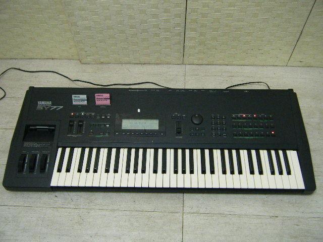 Aの12▲カード付属 YAMAHA( ヤマハ ) SY77 Keyboard キーボード◇シンセサイザー◇Vintage Syntheiszer