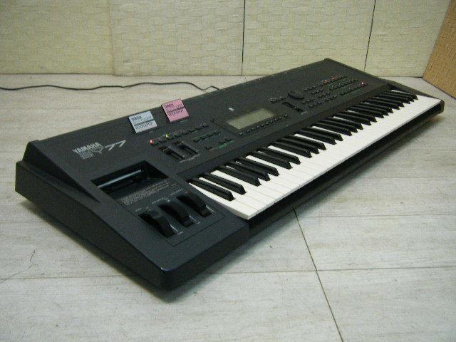 Aの12▲カード付属 YAMAHA( ヤマハ ) SY77 Keyboard キーボード◇シンセサイザー◇Vintage Syntheiszer_画像9