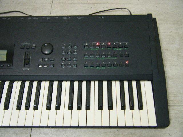 Aの12▲カード付属 YAMAHA( ヤマハ ) SY77 Keyboard キーボード◇シンセサイザー◇Vintage Syntheiszer_画像2