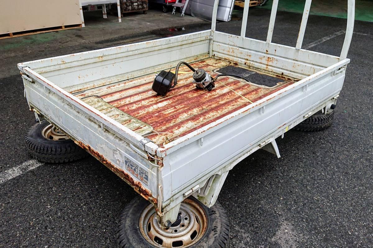 ハイゼットトラック ダンプホイスト S81P 荷台310707 210952 _画像3