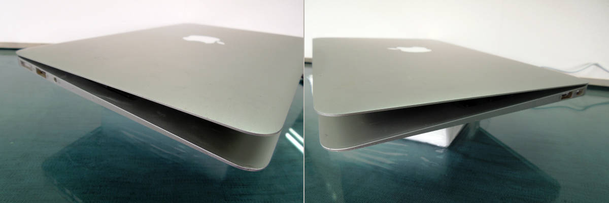 Apple MacBook Air A1465 11インチ Mid2013 SSDなし 起動OK      【管10668】_画像7