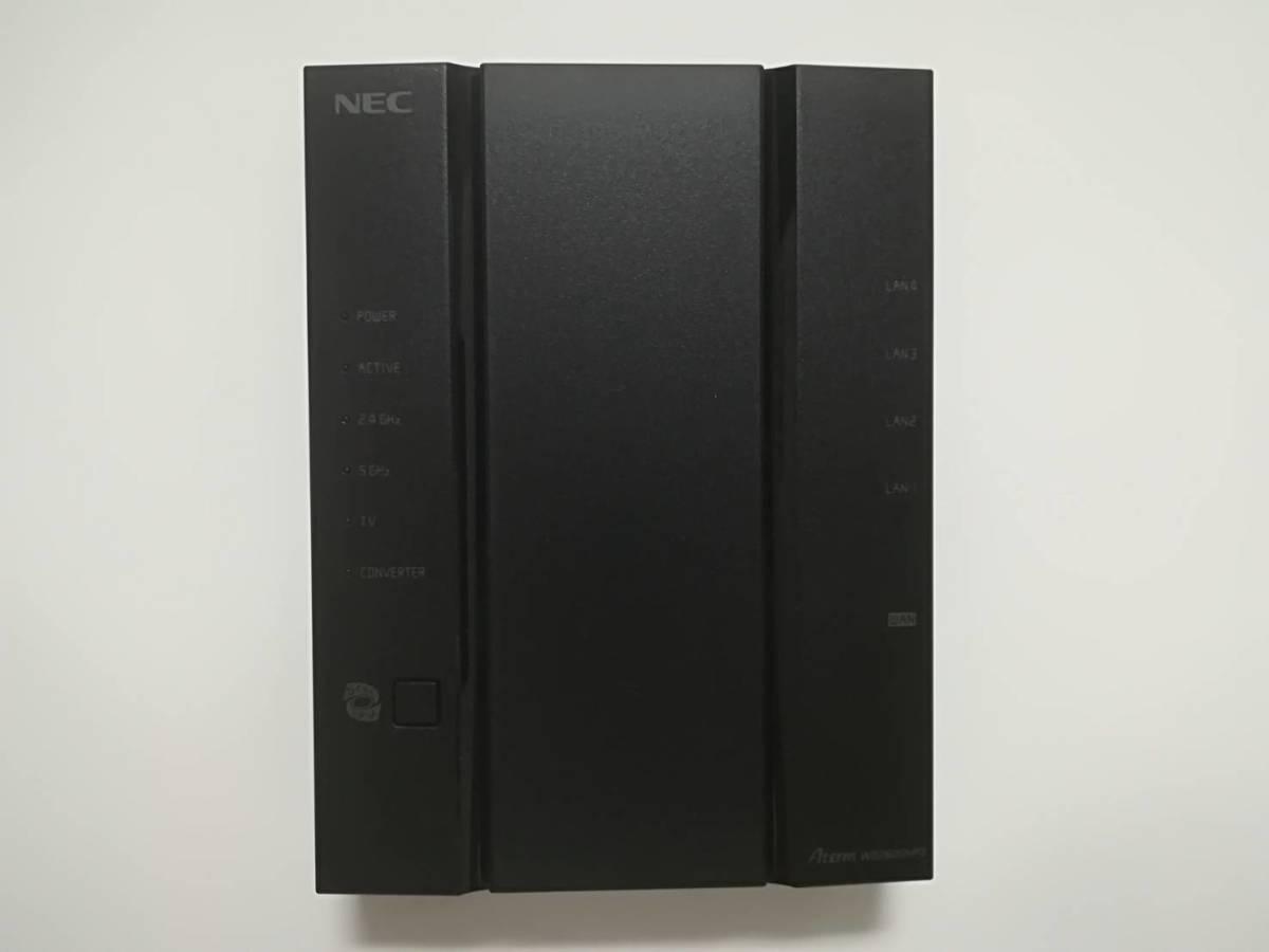 【美品・保証あり】 NEC Aterm PA-WG2600HP3 無線LANルーター_画像3