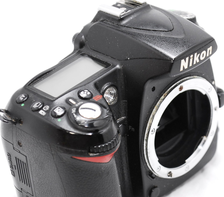 【良品・動作未確認】Nikon ニコン D90 ジャンク_画像5