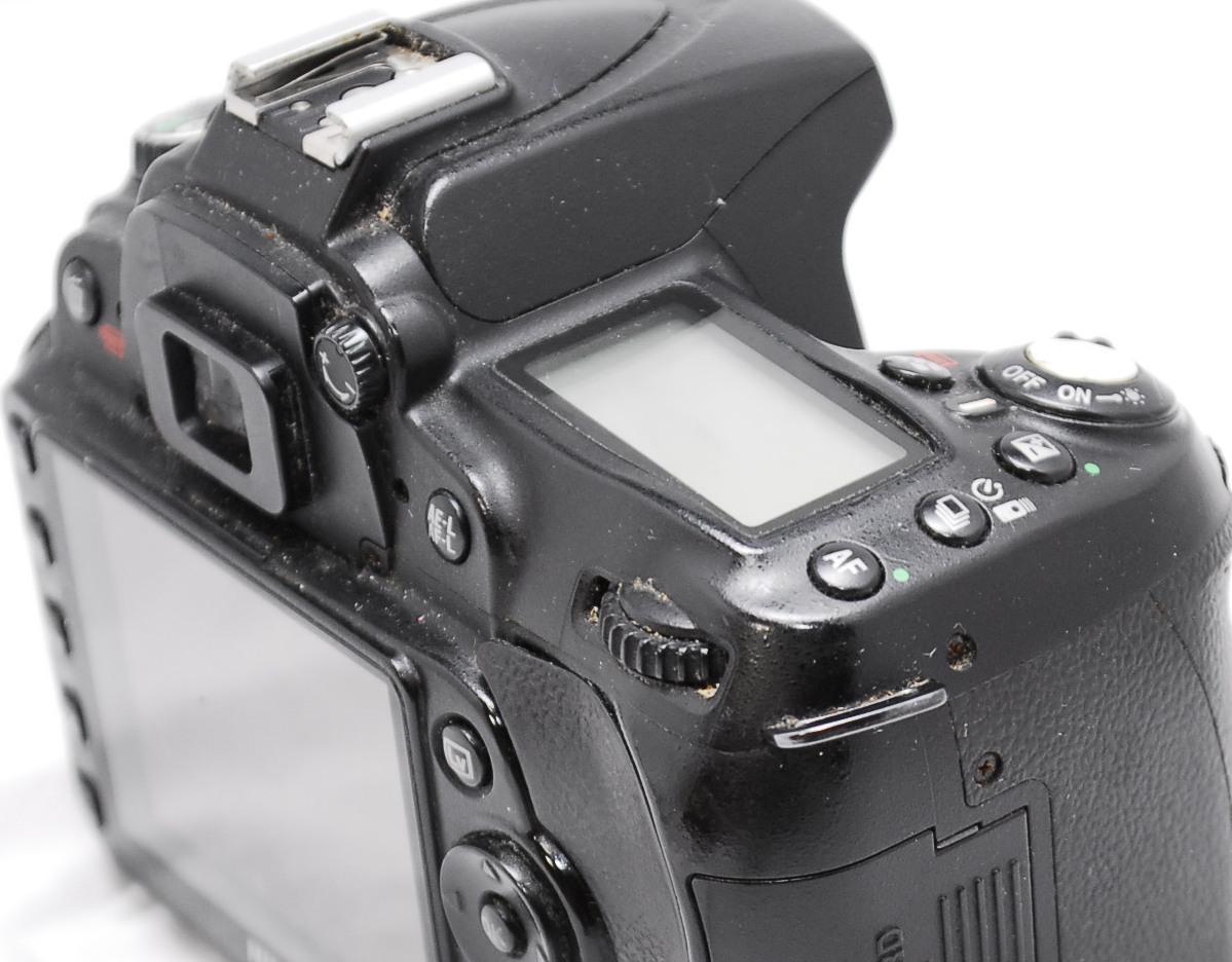 【良品・動作未確認】Nikon ニコン D90 ジャンク_画像6