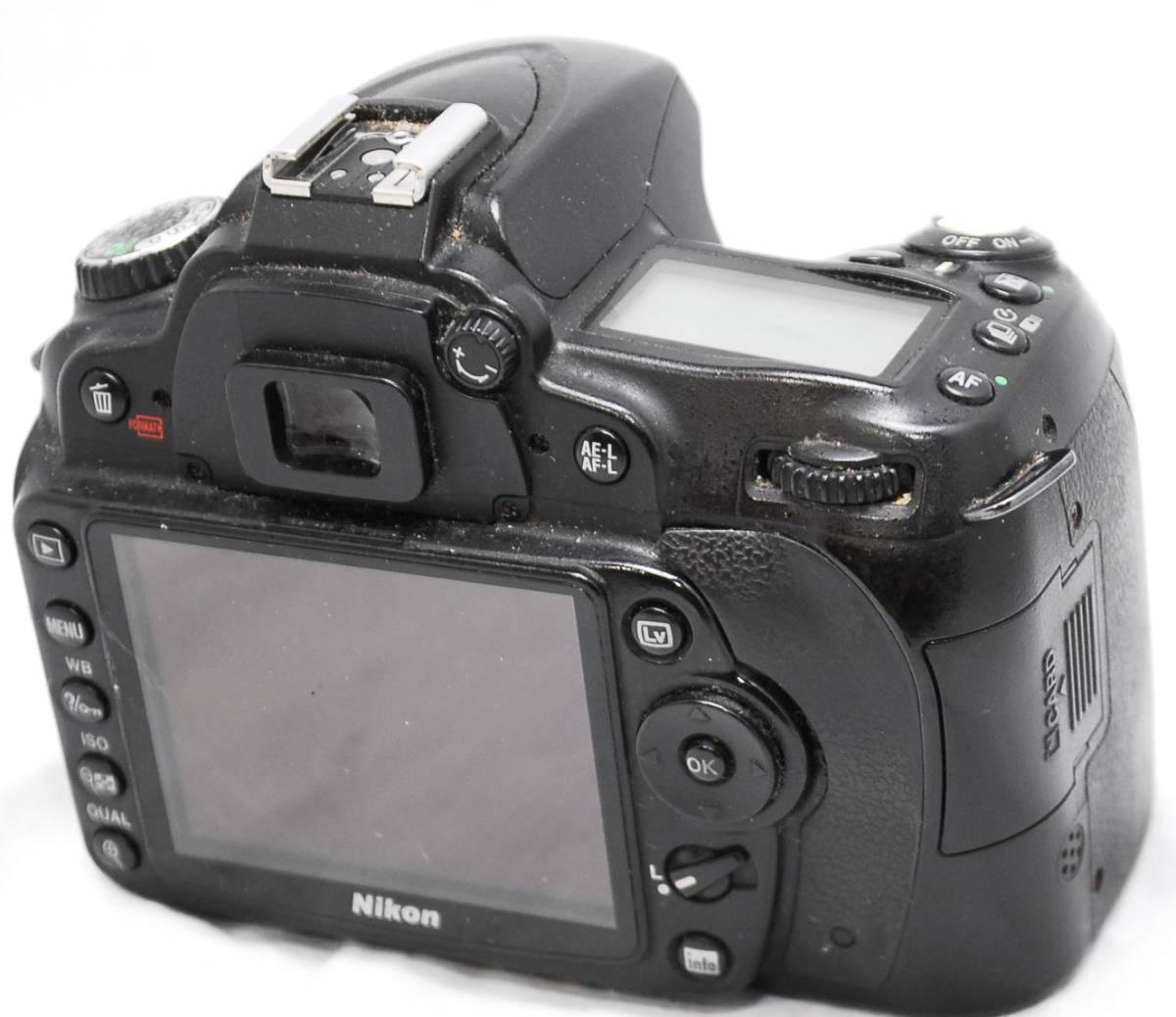 【良品・動作未確認】Nikon ニコン D90 ジャンク_画像3