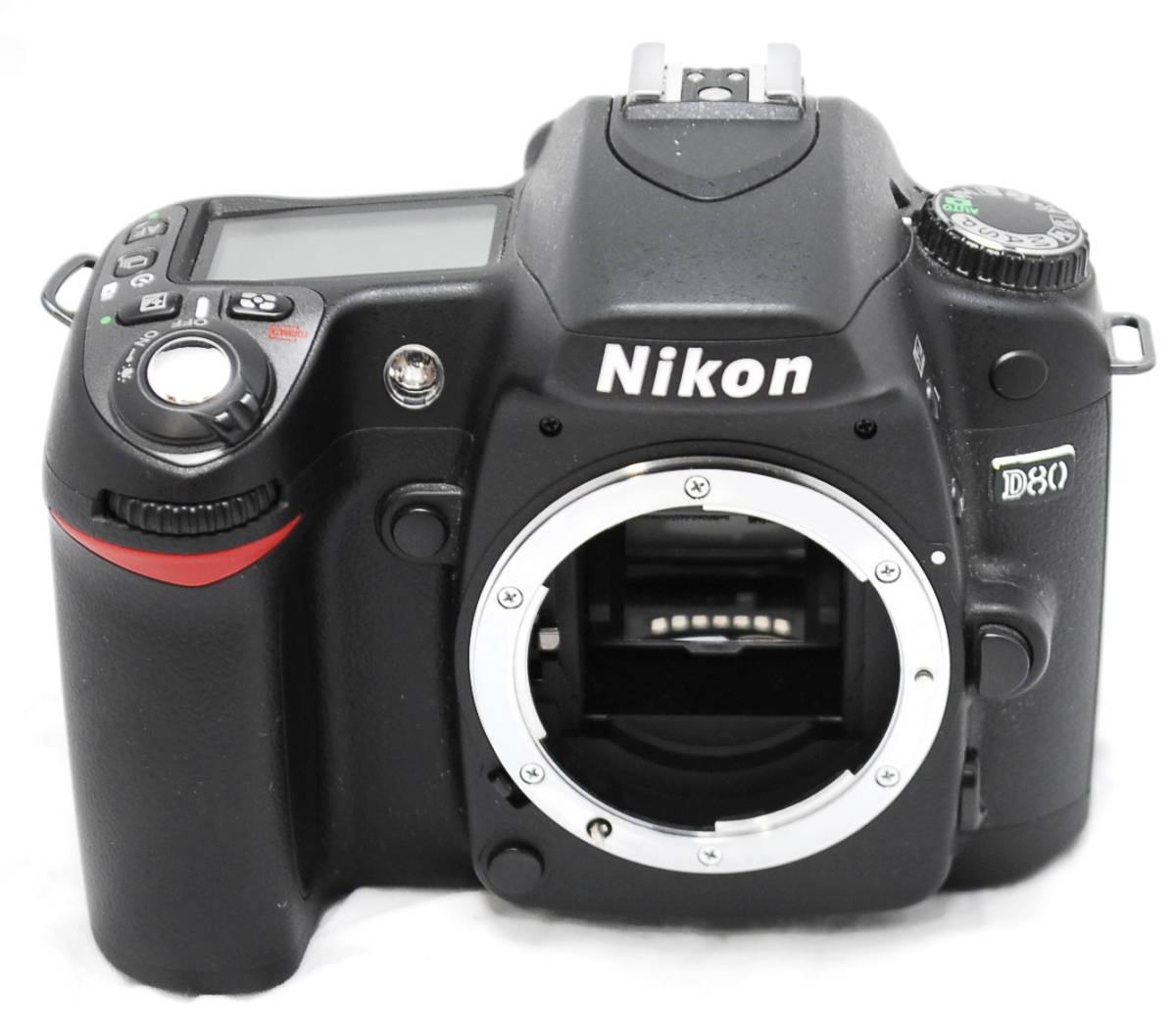 【良品・動作未確認】Nikon ニコン D80  ジャンク_画像2