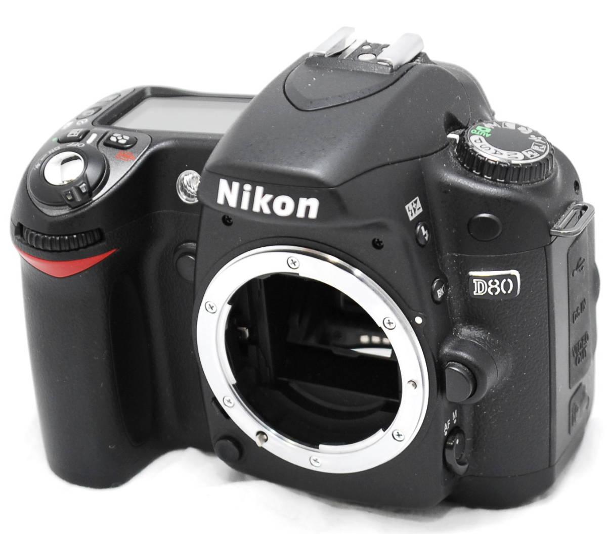 【良品・動作未確認】Nikon ニコン D80  ジャンク