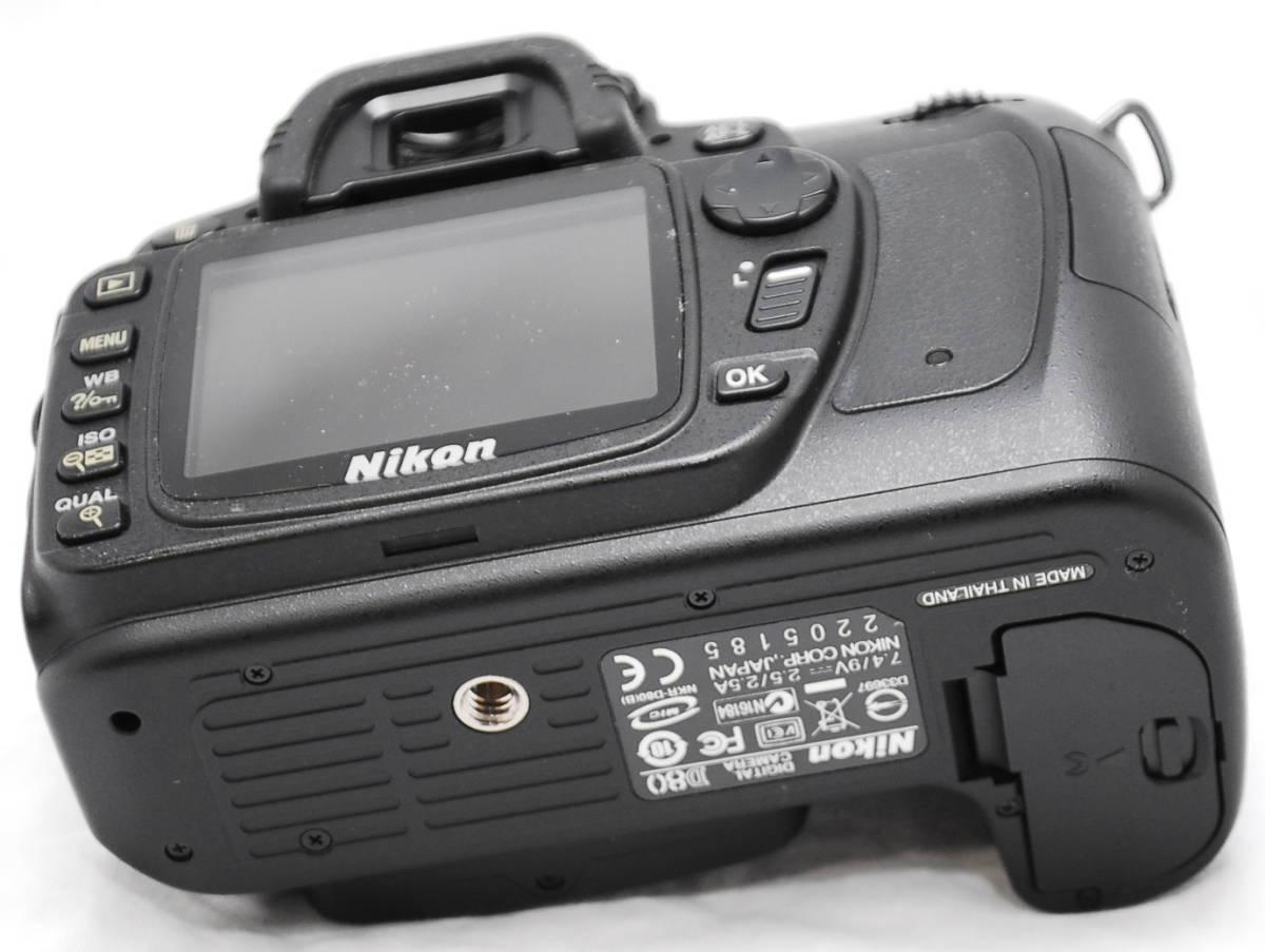 【良品・動作未確認】Nikon ニコン D80  ジャンク_画像9