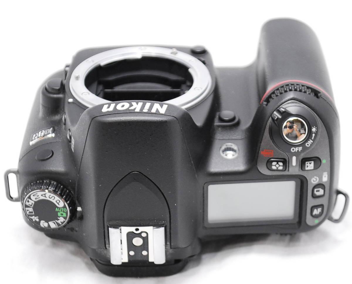 【良品・動作未確認】Nikon ニコン D80  ジャンク_画像8