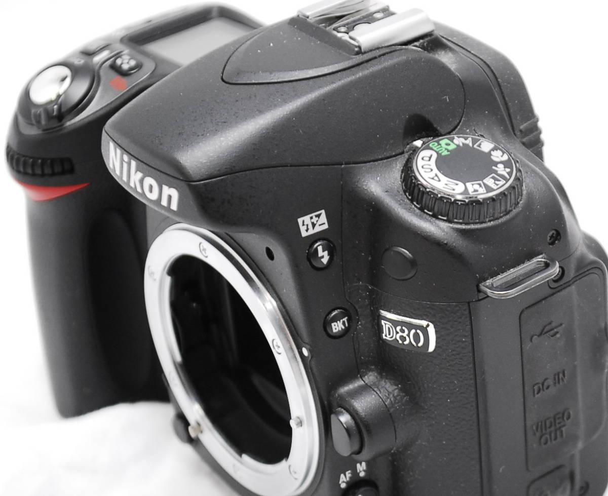 【良品・動作未確認】Nikon ニコン D80  ジャンク_画像4