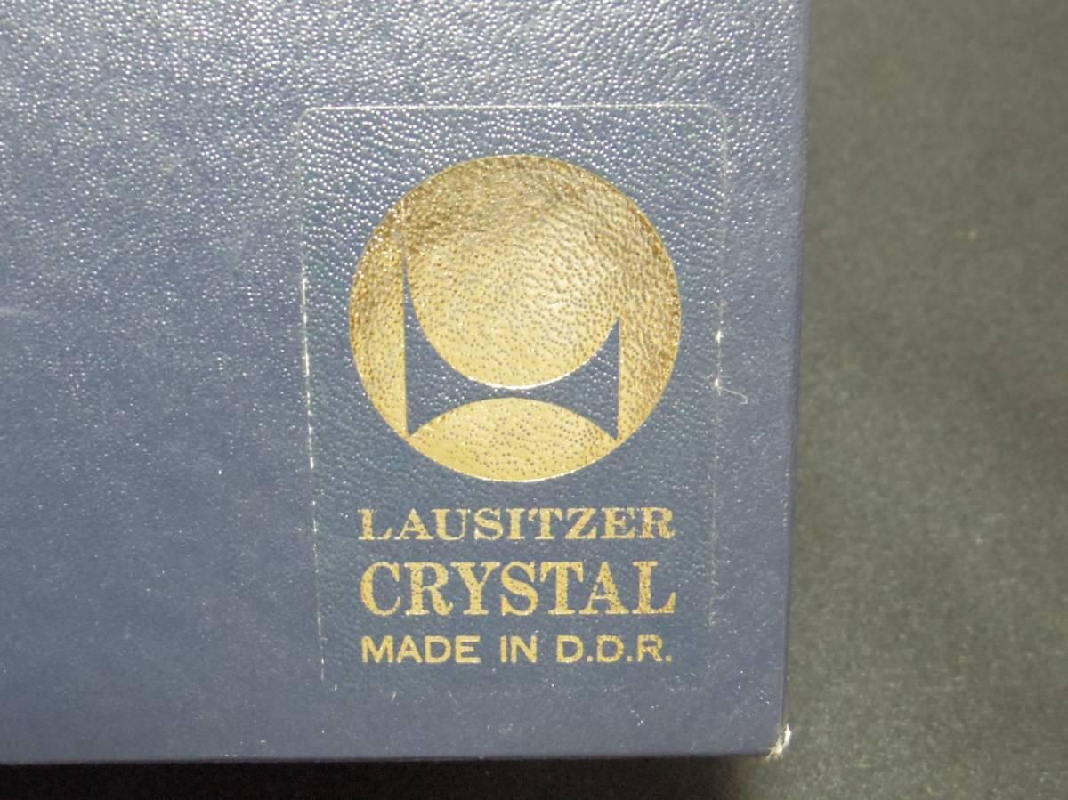 【LAUSITZER】 ラウジッツァー クリスタルガラス ロックグラス 2個 東ドイツ_画像8