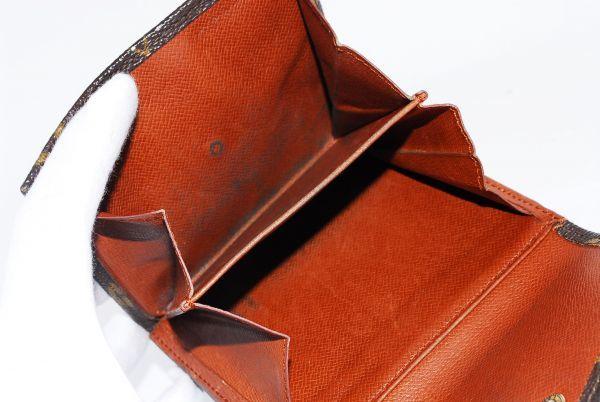 本物 ルイヴィトン LOUIS VUITTON オリガミ モノグラム 二つ折り 財布 c000113_画像7