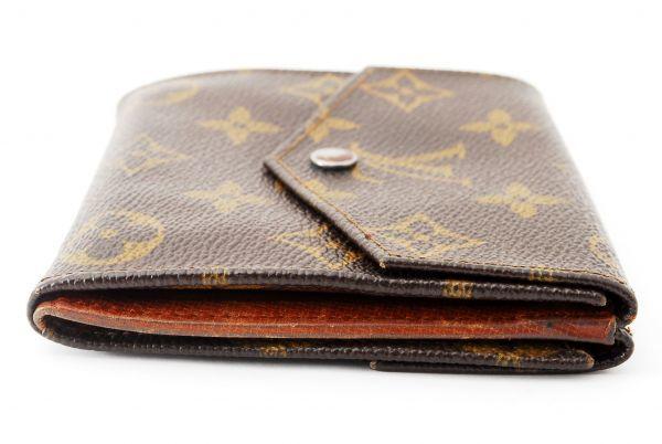 本物 ルイヴィトン LOUIS VUITTON オリガミ モノグラム 二つ折り 財布 c000113_画像3