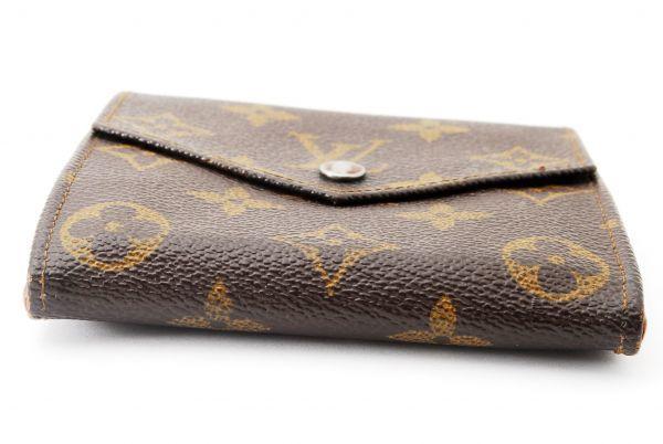 本物 ルイヴィトン LOUIS VUITTON オリガミ モノグラム 二つ折り 財布 c000113_画像6