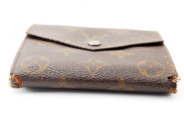 本物  ルイヴィトン LOUIS VUITTON オリガミ モノグラム 二つ折り 財布 c000118_画像6