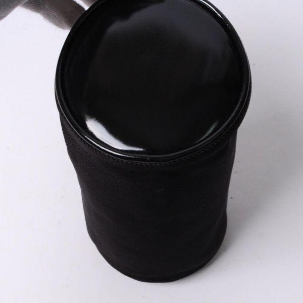 【中古】グッチ GUCCI ポーチセット まとめ売り ブラック 無地 ロゴ ファブリック エナメル c100176_画像4