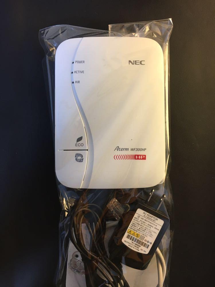 aterm WF 300HP ホームルーター NEC WiFi マンション アパート 住まい に_画像3