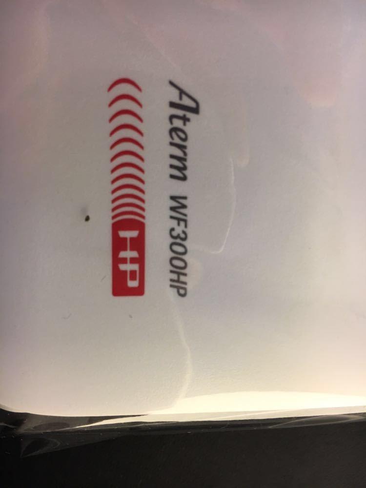 aterm WF 300HP ホームルーター NEC WiFi マンション アパート 住まい に_画像2