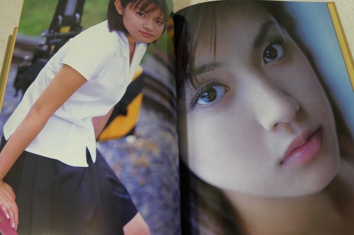 【深田恭子 卒業記念写真集 AVENIR 2冊組】特大ポスター2枚付き_画像3