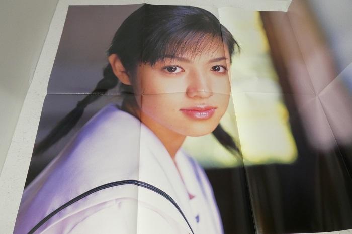 【深田恭子 卒業記念写真集 AVENIR 2冊組】特大ポスター2枚付き_画像9